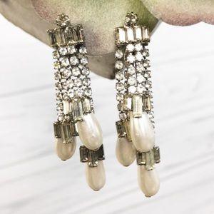 Vintage style clip on earrings